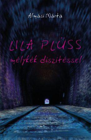 Almási Márta: Lila plüss, mélykék díszítéssel