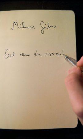 Mihucz Gábor: Ezt nem én írom!